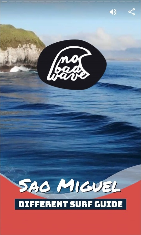 Sao Miguel surf guide cover